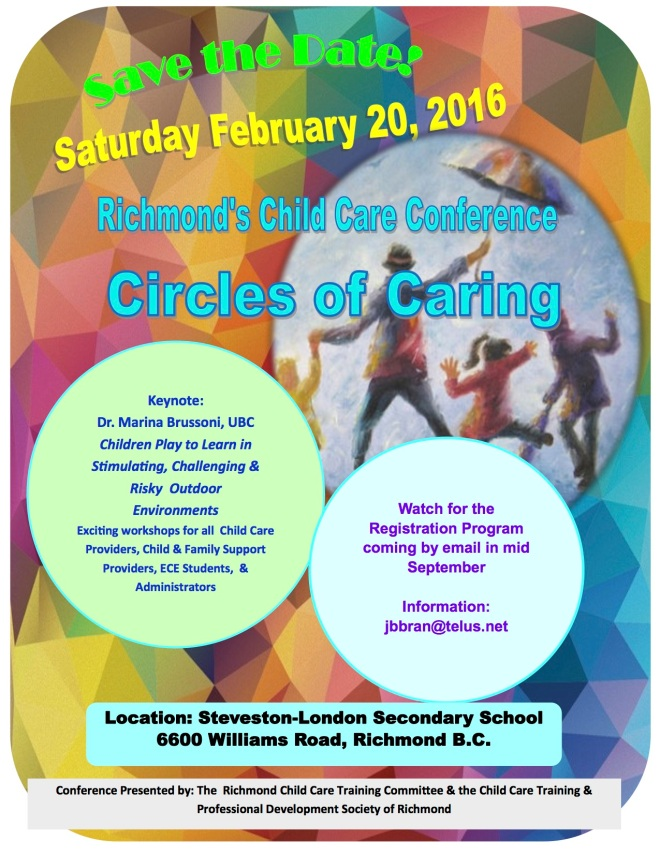 Circles of Caring 2016 Save the Dateposter