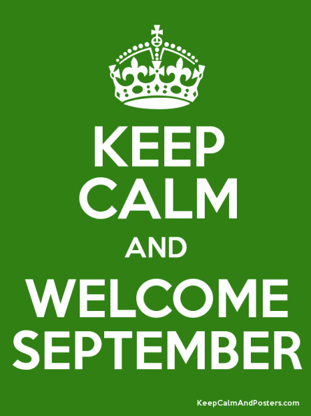 Welcome September